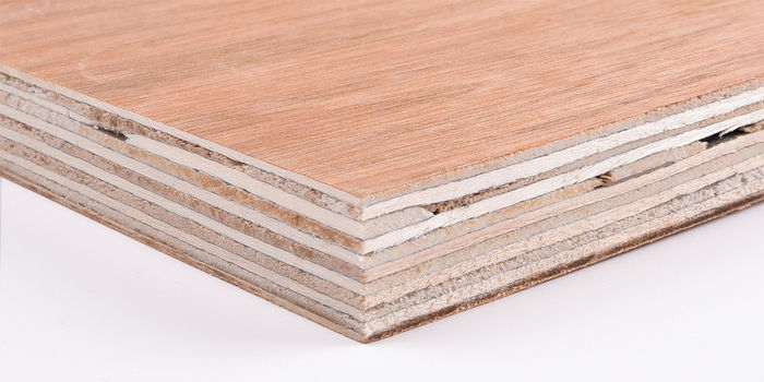 Meyer Trade Red Faced Poplar Core Hardwood Plywood B BB CE4 - EN314-2 Class 1. EN636-1. E1